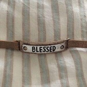 Jewelry - Blessed snap bracelet